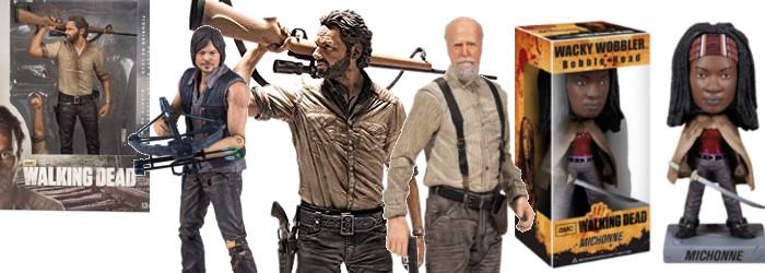 The Walking Dead Actionfiguren / © McFarlane Toys | mcfarlane.com / © Funko Toys | funko.com