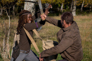 Szenenfoto aus The Walking Dead 8x16 © Gene Page / AMC.com